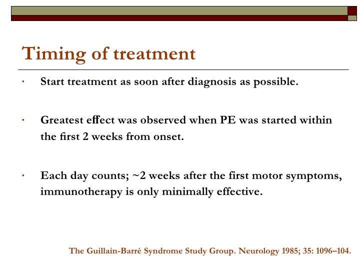 Timing of treatment <ul><li>Start treatment as soon after diagnosis as possible. </li></ul><ul><li>Greatest effect was obse...