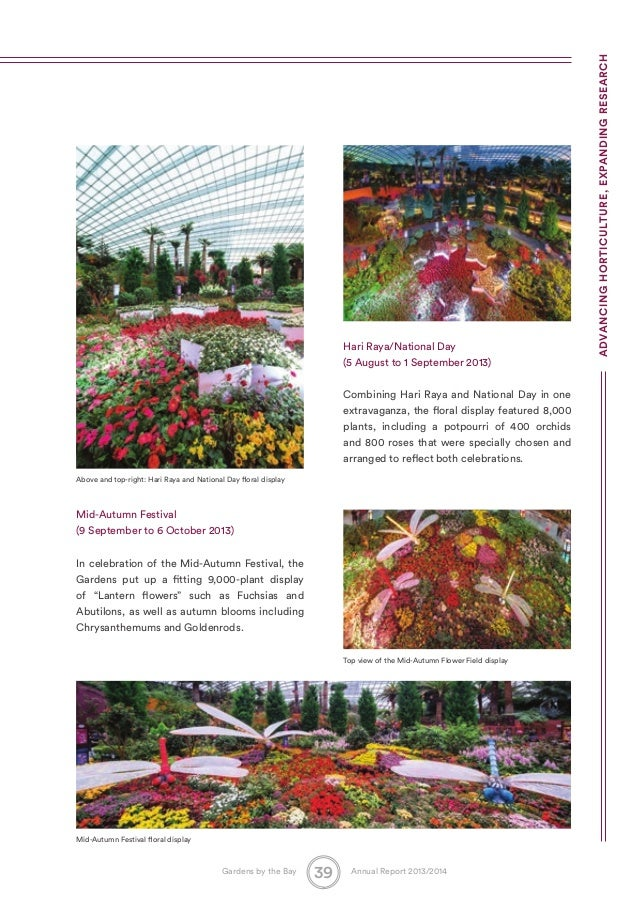 Garden By The Bay August 2014 singapore gardensthe bay annual report2014_071014_compressed vers…