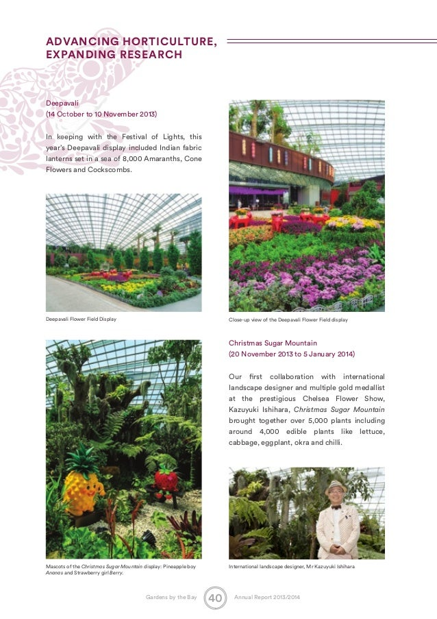 Garden By The Bay Flower Show singapore gardensthe bay annual report2014_071014_compressed vers…