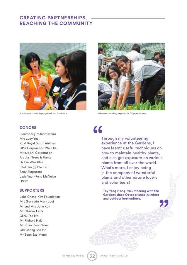 parent volunteer resume singapore