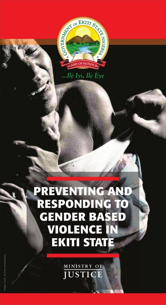 Preventing and Responding to Gender Based Violence in Ekiti State