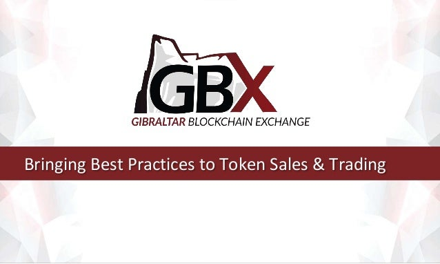 Bringing Best Practices to Token Sales & Trading