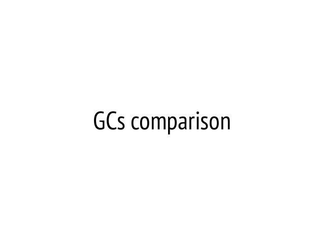 GCs comparison