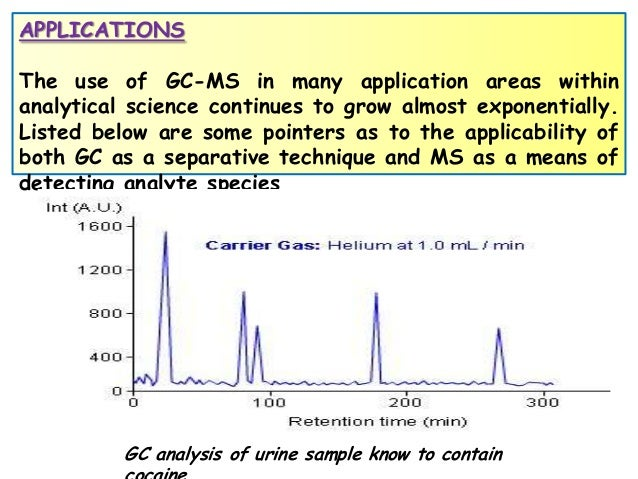 Mass spectrometry principles applications