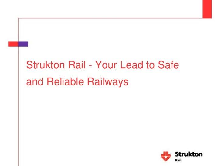 Gebruik van GIS in bedrijfsprocessen, Strukton Rail Slide 2