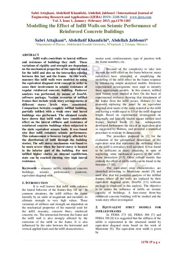 Sabri Attajkani, Abdellatif Khamlichi, Abdellah Jabbouri / International Journal of       Engineering Research and Applica...