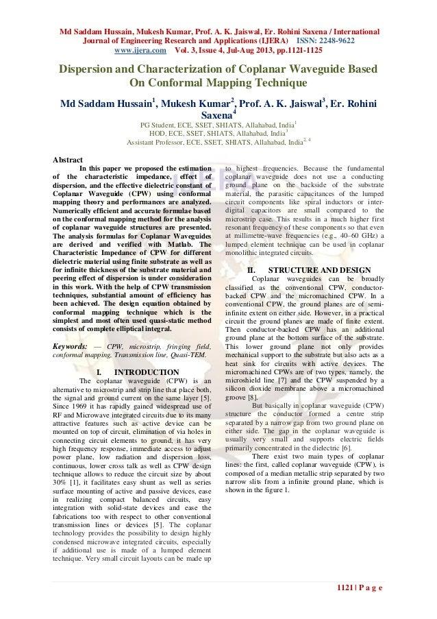 Md Saddam Hussain, Mukesh Kumar, Prof. A. K. Jaiswal, Er. Rohini Saxena / International Journal of Engineering Research an...