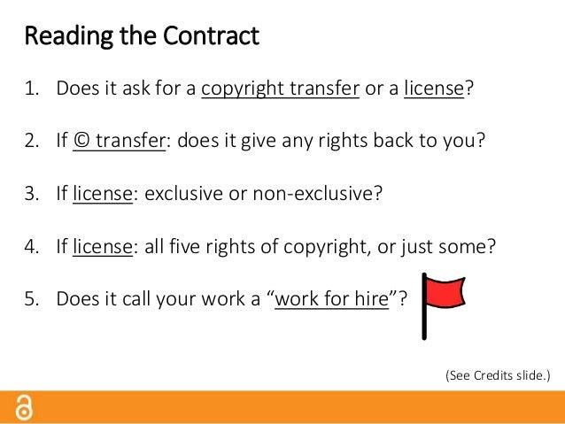 Copyright Transfer: JAMA Source: http://bit.ly/jamaagreement