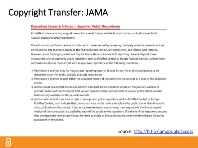 Copyright Transfer: Wiley Source: http://bit.ly/wiley_copyright