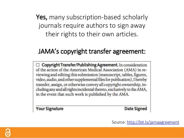 No, authors don't always fully read and understand what they're required to sign. Wiley's copyright transfer agreement: So...