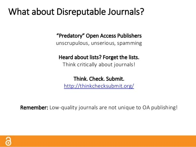 Finding Good Gold OA Journals Directory of Open Access Journals http://www.doaj.org Browse or search 9,000+ open access jo...