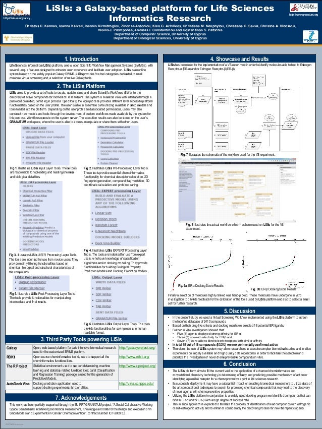 Gcc2013 lisis poster for Posterpresentations com templates