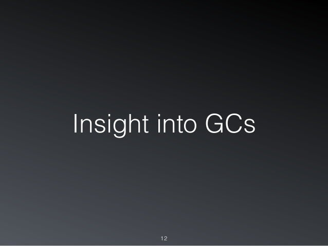 Insight into GCs 12