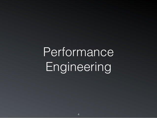 Performance Engineering 4