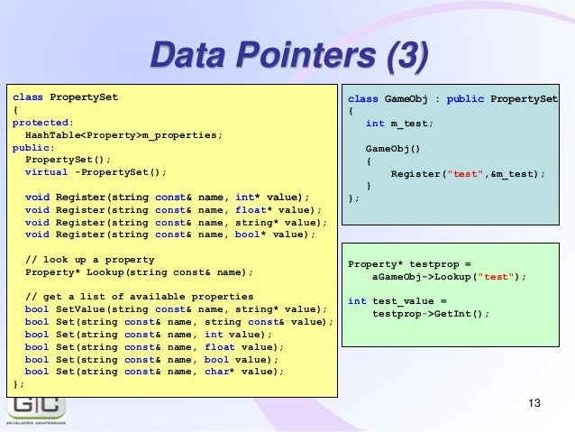 A simple and powerful property system for C++ (talk at GCDC