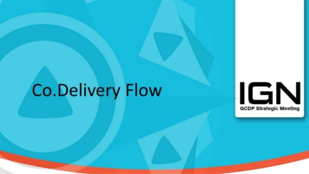 Definition and Importance for IGN Codelivery is a more concrete way to do cooperations, in order to provide more and bett...