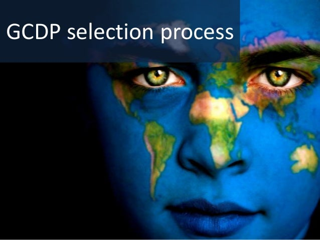 GCDP selection process