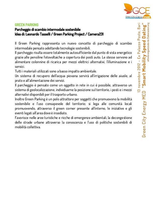 GREEN PARKINGParcheggio di scambio intermodale sostenibileIdea di: Leonardo Tasselli / Green Parking Project / Camera231I...