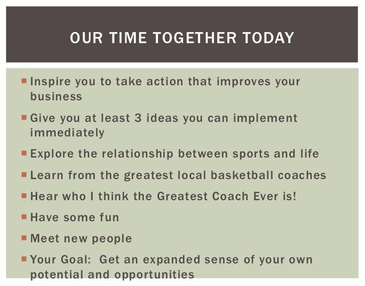 Greatest Coach Ever! Slide 2