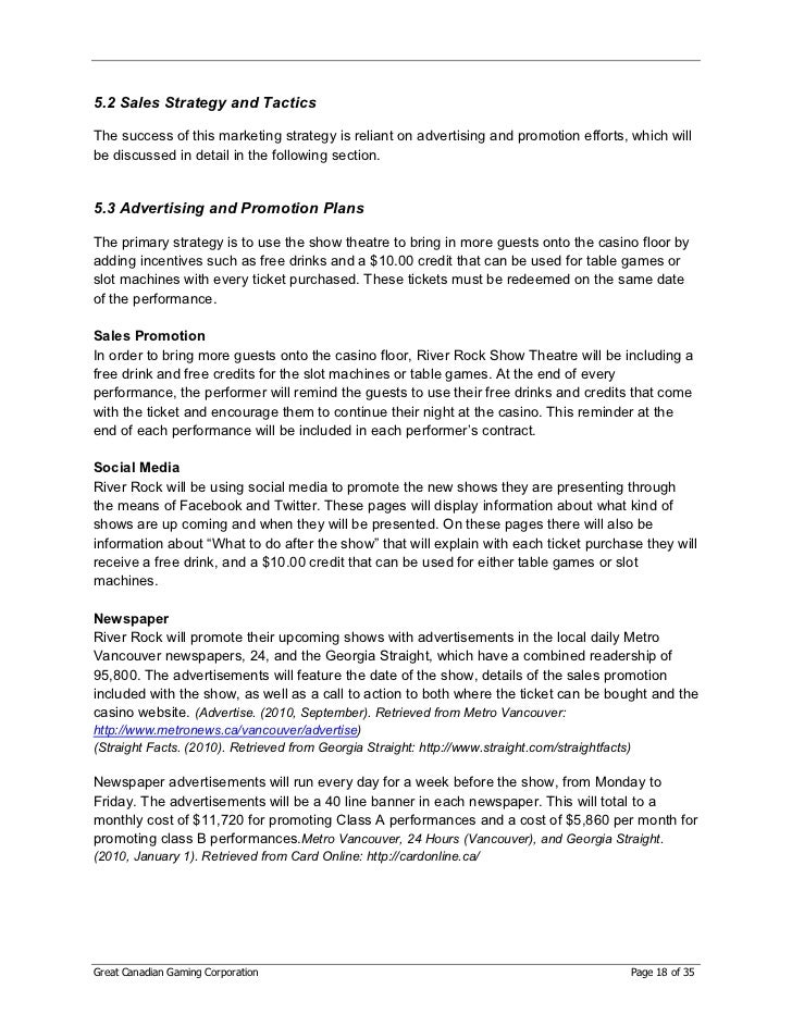 performing arts business plan template