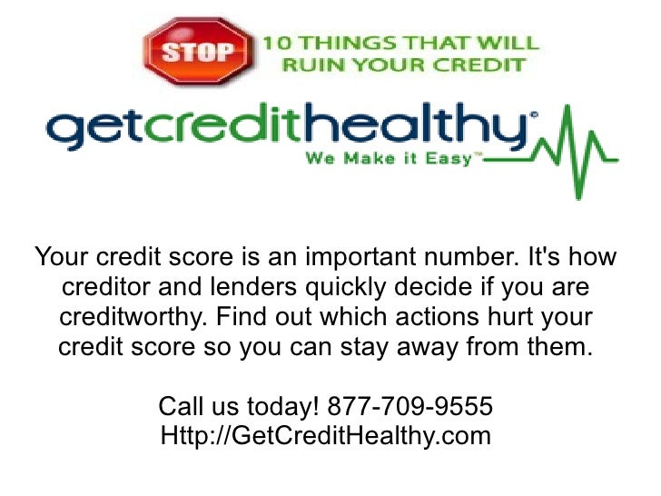 Your credit score is an important number. Its how  creditor and lenders quickly decide if you are  creditworthy. Find out ...