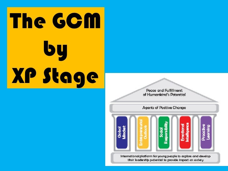 The GCM by<br />XP Stage<br />