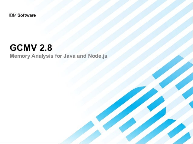 GCMV 2.8 Memory Analysis for Java and Node.js