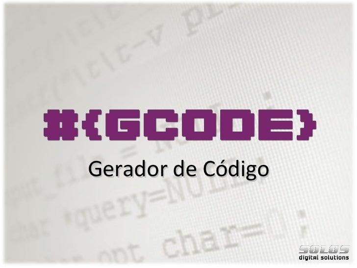 Gerador de Código