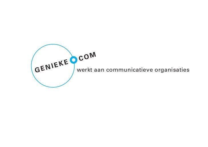 COM     NI EKEGE            werkt aan communicatieve organisaties