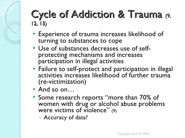 Addictions and Trauma