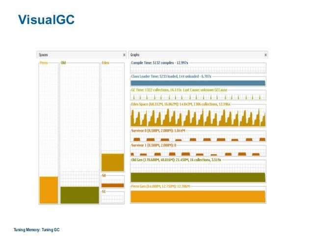 VisualGC Tuning Memory: Tuning GC