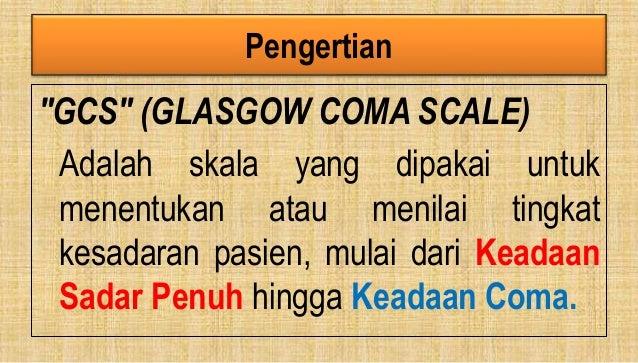 GCS Tingkat Kesadaran Slide 2