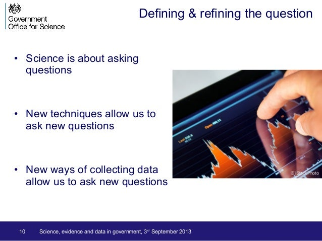 • Science is about asking questions • New techniques allow us to ask new questions • New ways of collecting data allow us ...