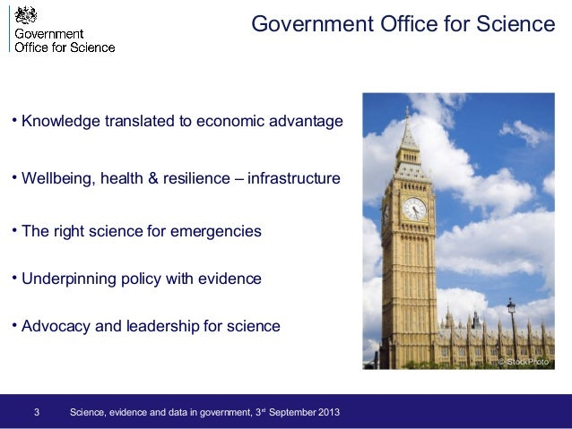 3 • Knowledge translated to economic advantage • Wellbeing, health & resilience – infrastructure • The right science for e...