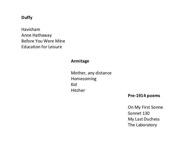 Mother any distance simon armitage essay writer