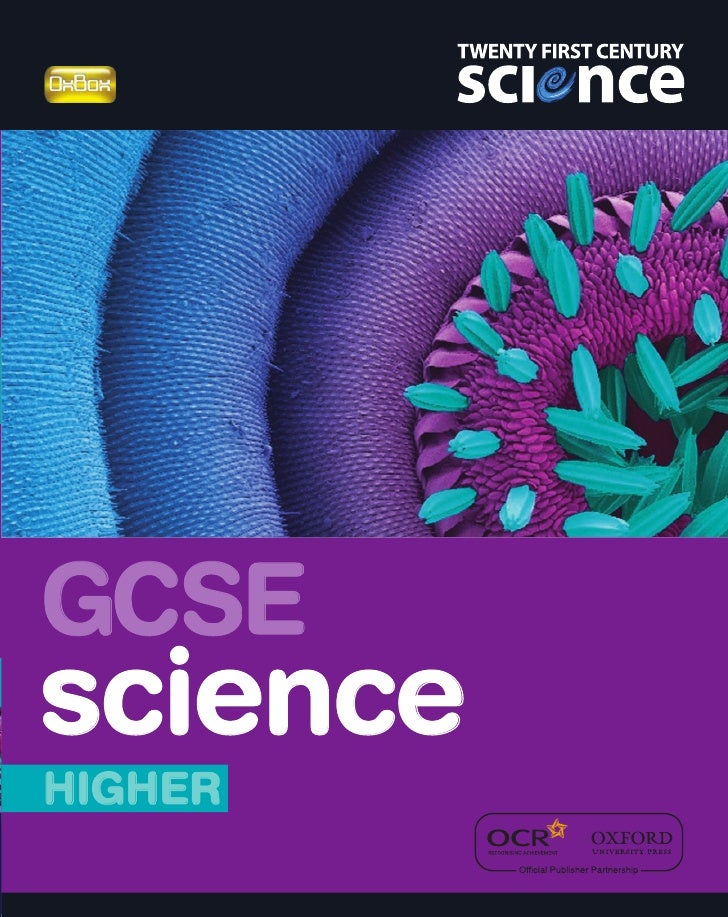 GCSEGCSE  SscienceHIGHER