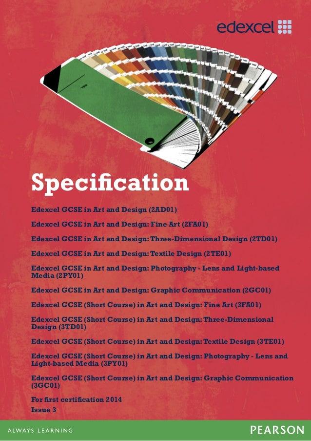 Gcse Art Design Spec 2012
