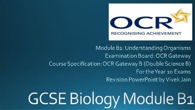 ocr gcse biology coursework 2013 Past exam papers and mark schemes for ocr (b) biology gcse (j263) unit 1 past exam papers and mark schemes for ocr (b) biology gcse (j263) unit 1  january 2013 ms.
