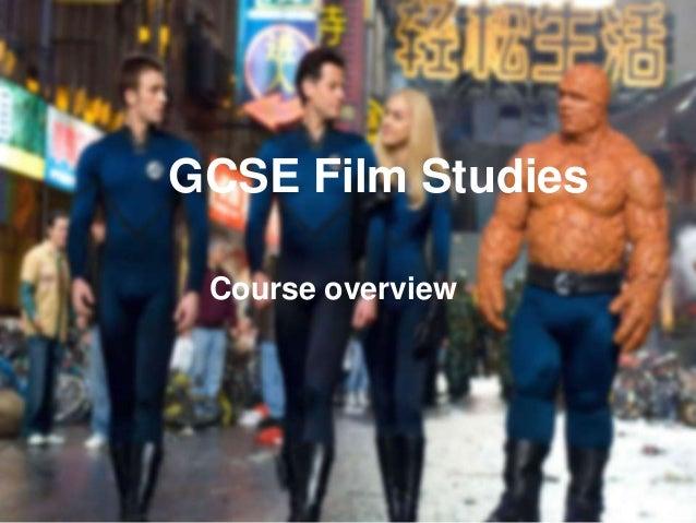 GCSE Film Studies Course overview