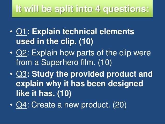 Help with my film studies paper