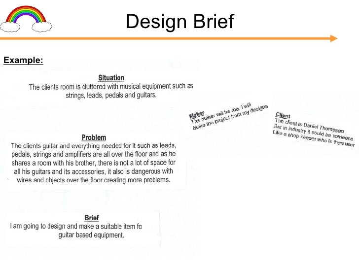 Design Brief Example: