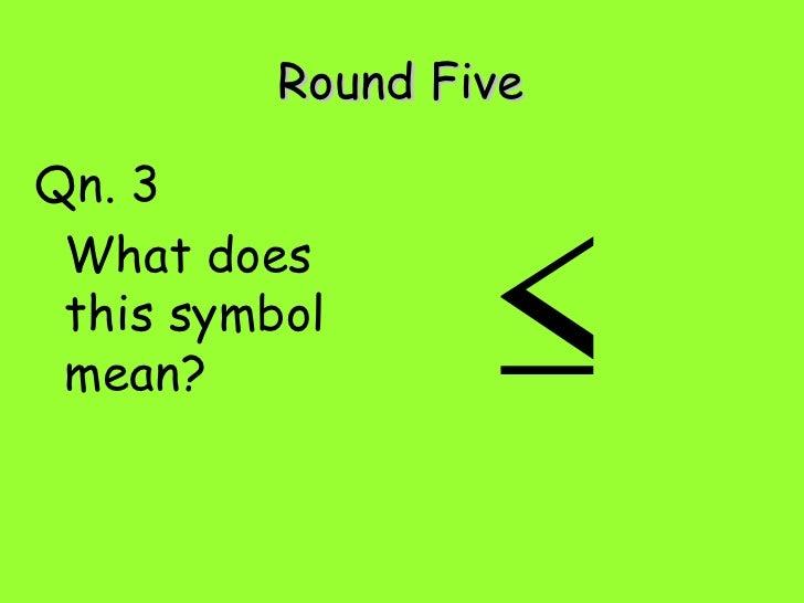 Gcse Foundation Revision Quiz