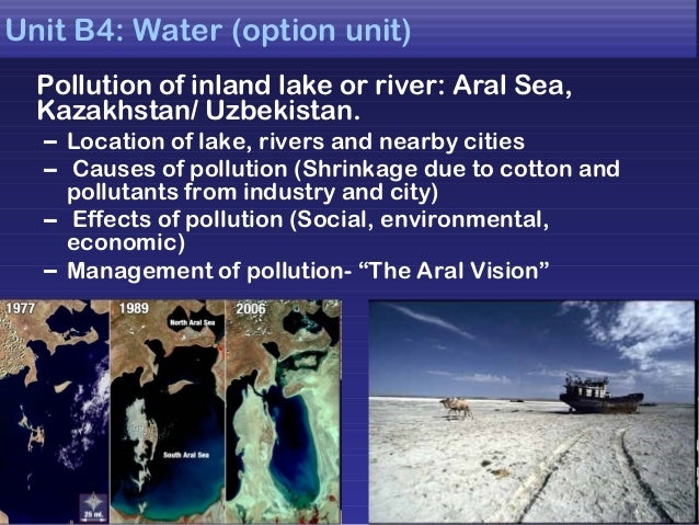 Geography Aral Sea Case Study - YouTube