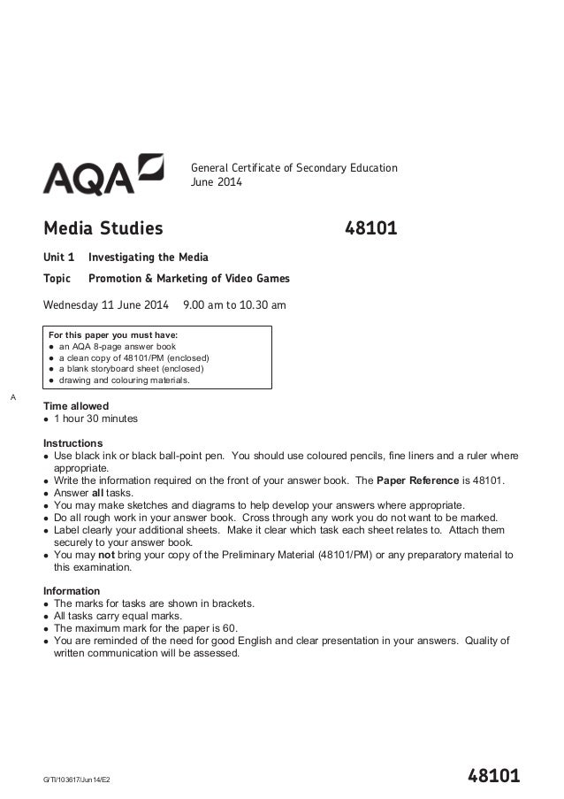 media coursework gcse english aqa Help with controlled assessment of [level] [subject] [specification number] for teachers: find your adviser, attend a standardisation meeting, access standardisation.