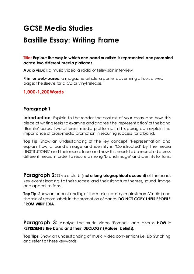 media studies coursework brief The gce media studies homepage under past papers or mark schemes  unit g321 foundation portfolio in media studies (coursework - 25%)  brief must also be.