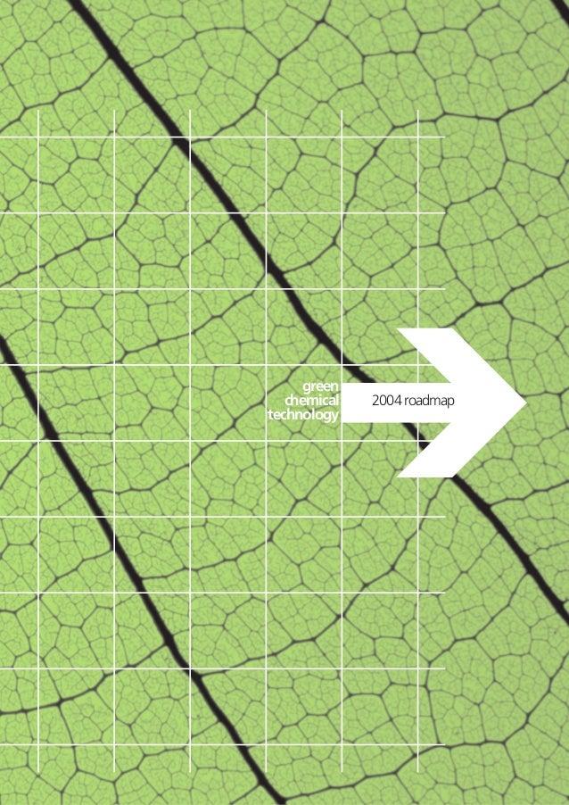 2004 roadmapgreenchemicaltechnology