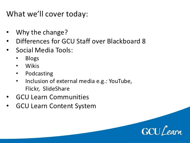 What we'll cover today:<br /><ul><li>Why the change?
