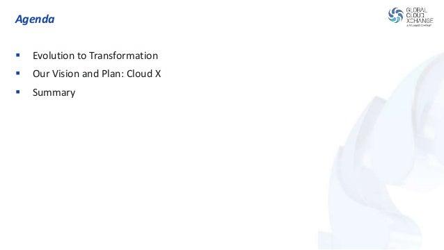 GCX Cloud X Launch Presentation (October 14th, 2014) Slide 3