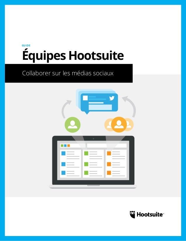 Équipes Hootsuite: Collaboration sur les médias sociaux