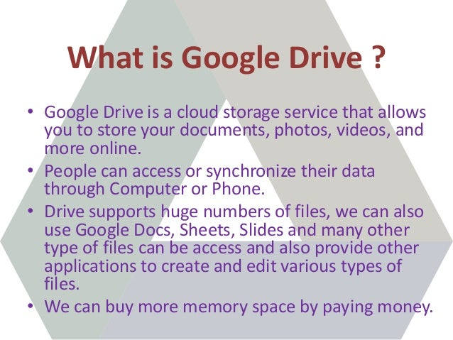 Google Drive What Is Google Drive And How To Use Google